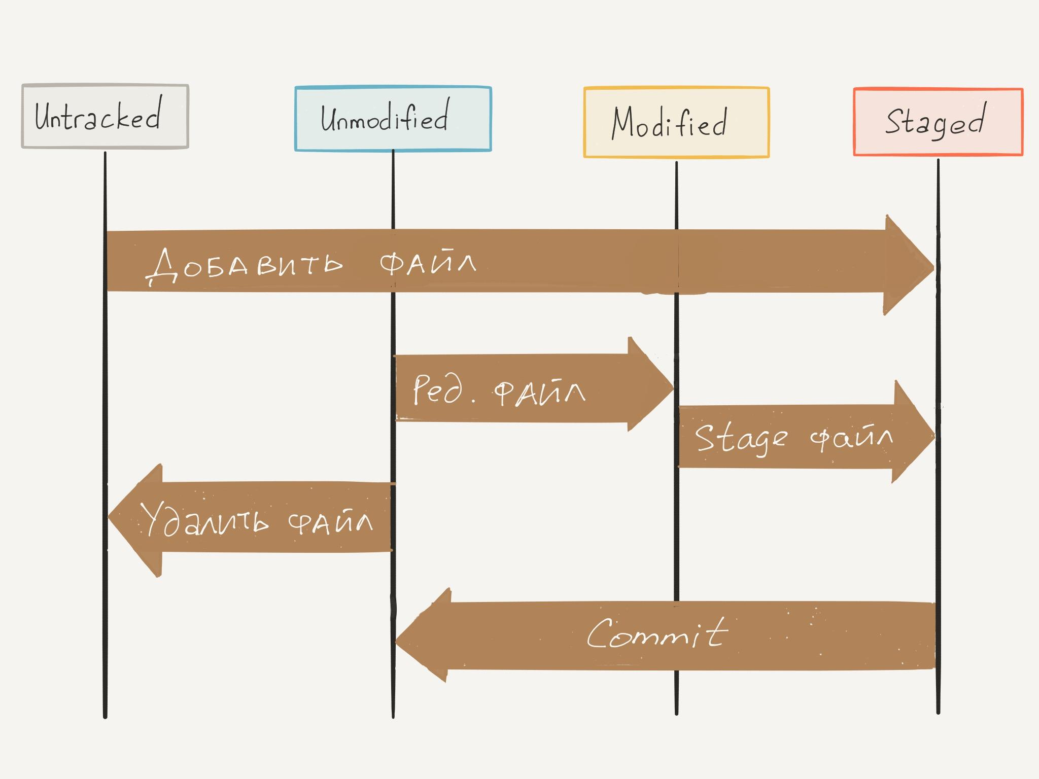 Git Files Lifecycle